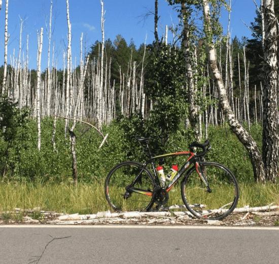 Road bike in Ukraine, Kiev