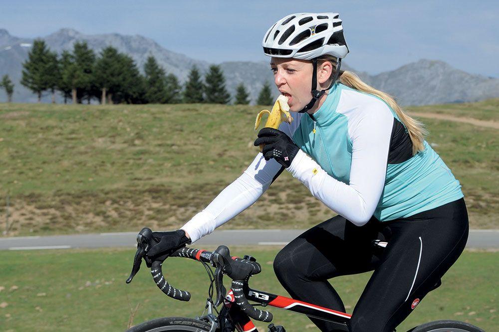 советы для начинающих велосипедистов - еда в дороге