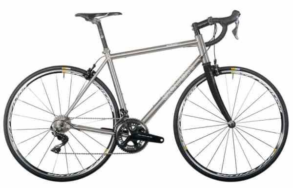 рамы шоссейных велосипедов титан